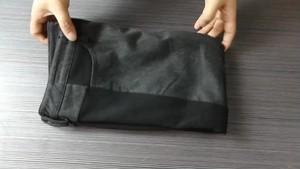 ズボン スリム ステッチカラー サイドストライプ パンツ
