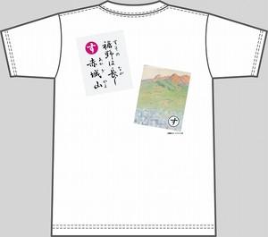 【キッズ】上毛かるた×KING OF JMKオリジナルTシャツ【白・す】