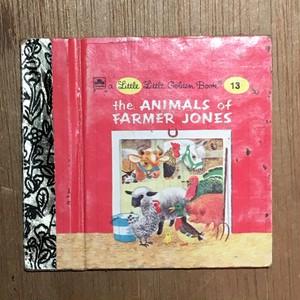 a little little Golden Book 13: the ANIMALS of FARMER JONES/Richard Scarry