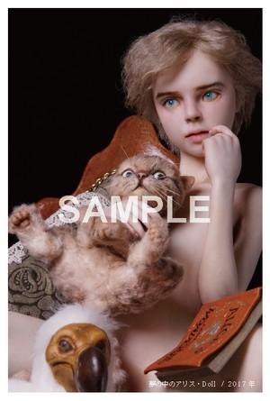 新作ポストカード「夢の中のアリス・Doll」B