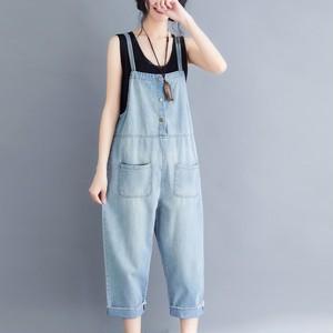 【ボトムス】韓国版ファッションゆるいプラスサイズ可愛いサロペット