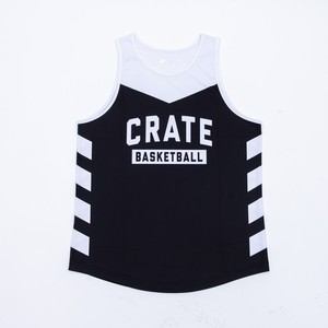 CRATE Mesh Tanktop BLACK× WHITE