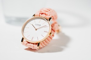 LUND WATCHES ( NUDE / ROSE GOLD 34mm)