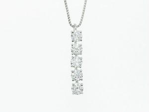 Dカラー3EXハート&キューピット【PT900】1.060ct UP ダイヤモンドネックレス