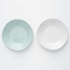 NOVA スープ&パスタ皿セット ホワイト&ターコイズ[0130211105]