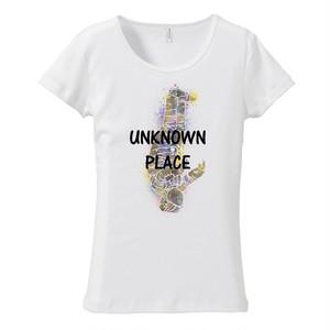 [レディースTシャツ] Unknown place