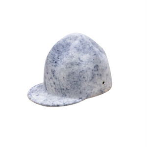 CRUMPLED CAP/navy spot