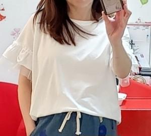 フリル&チュールTシャツ