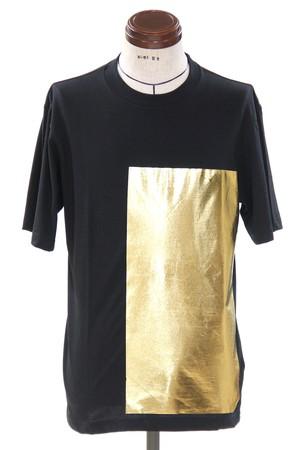 Gold Foil Print T-Shirt