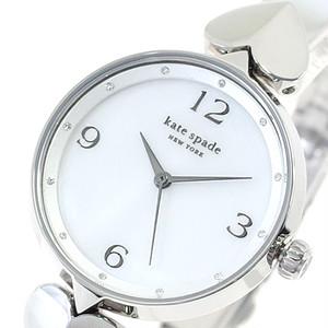 ケイトスペード KATE SPADE 腕時計 レディース KSW1562 HOLLIS ホリス クォーツ ホワイト マザーオブパール シルバー