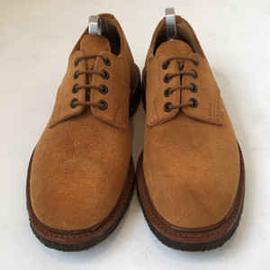 Trickers Suede Crepe Sole Shoe Made in England