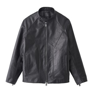 SOFT COW LEATHER JACKET (JUHA)