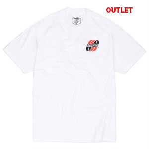【アウトレット】BUTTER GOODS UNITED LOGO TEE, WHITE サイズL