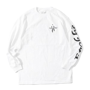 EXTENSION EX2004 L/S TEE(WHITE)