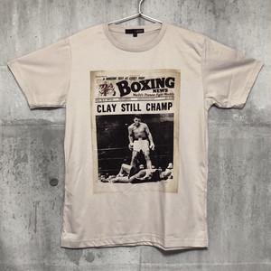 【送料無料】 MUHAMMAD ALI / Boxing News Men's T-shirts M モハメド・アリ / ボクシング・ニュース メンズ Tシャツ M