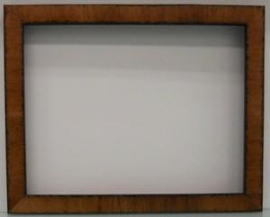 A-60013(薄茶/側面黒) 額縁寸法インチ(254mm×203mm)2mmアクリル/裏板/箱付き/完品
