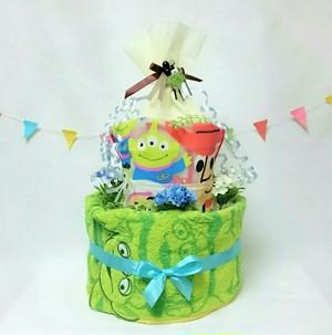 【トイストーリー】おむつケーキ