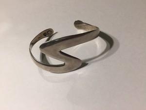 Vintage mexican 925 silver bangle ( ヴィンテージ  メキシカン シルバー バングル )