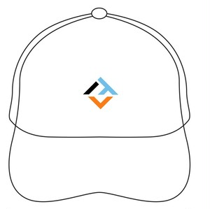 オフィシャルロゴキャップ(白シックスパック)