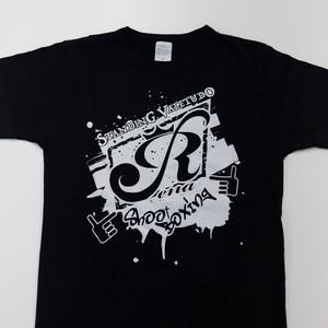ブラックR Tシャツ