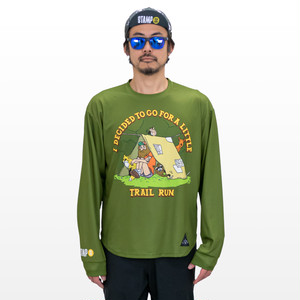 STAMP LONG SLEEVE TEE (Life in the woods)