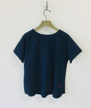 【快晴堂】半袖ギャザーシャツ / 91C-22
