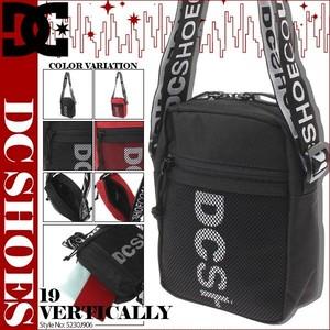 5230J906 ディーシー ショルダーバッグ 人気ブランド メンズ 男性 かっこいい プレゼント おすすめ 鞄 黒 DC SHOE 19 VERTICALLY