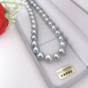あこや真珠ネックレス 9.5-10mm ナチュラル