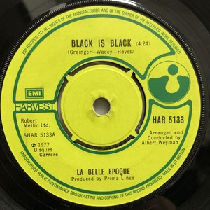 La Belle Epoque / Black is Black[中古7inch]