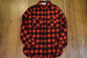 USED USA製 ウールリッチ ウールシャツジャケットWoolrich wool shirt Jacket レッド系