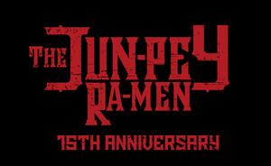 jun-pey ra-men 15周年ステッカー