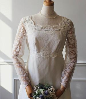 60's empire style vintage Dress