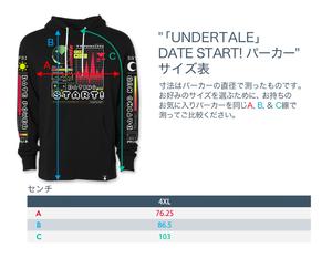 DATE START! パーカー / UNDERTALE ( アンダーテイル )