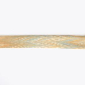 絹 絽 ち り め ん 帯 揚 げ[ 小 麦 畑 ]
