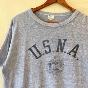 """80's Champion """"U.S.N.A """" 88/12 Vintage Tee"""