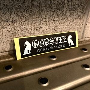 GODSIZE LOGO STICKER / ロゴステッカー