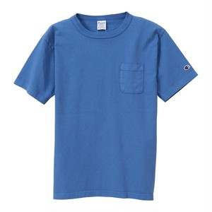 Champion / チャンピオン |【SALE!!】T1011 USA T-Shirt with pocket / ブルーグレー