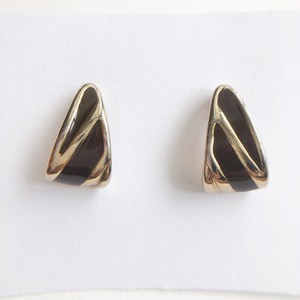 brown enamel pierce[p-654]