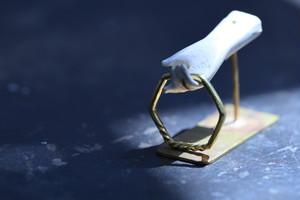 真鍮の指輪(六角形)