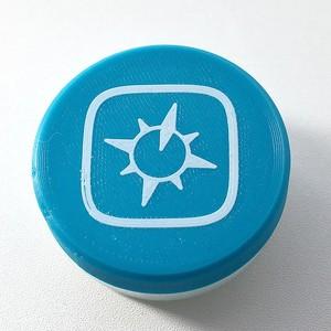 ジオグラフィカ マルチ調味料ケース(ブルー)