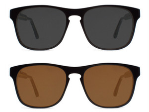 CAPITAL Eye Wear Sunglass (Forrest/CLASSIC BLACK)