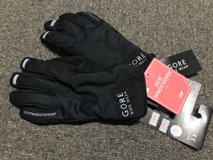GORE POWER GWS Glove size S ウィンドストッパー