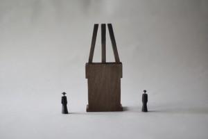 (106)wood figure-mini &structure 箱入 030