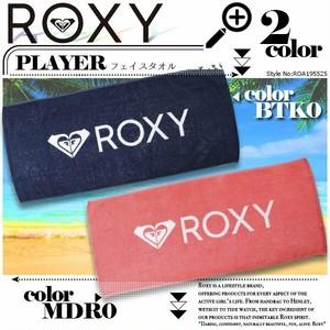 ROA195525 ロキシー フェイスタオル 人気ブランド レディース 新作 海 選べる 2カラー ピンク ネイビー 紺 おすすめ ギフト PLAYER ROXY
