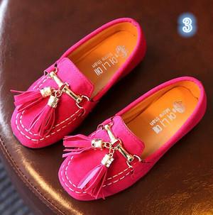 キッズローファー/【PINK】ピンク