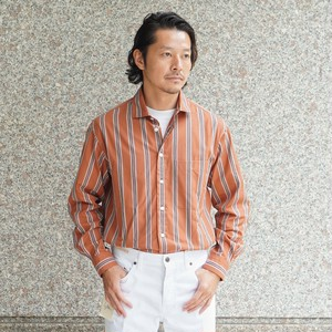 COLONY CLOTHING / STRIPE LOUNGE SHIRT  / CC20FW-SH02