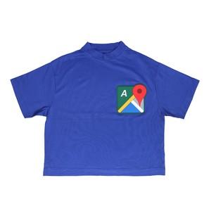 MAP T-SHIRTS / BLUE