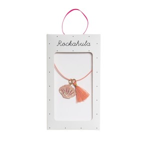 N1356P Shimmer Shell Necklace