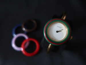 Gucci Change Bezel Watch