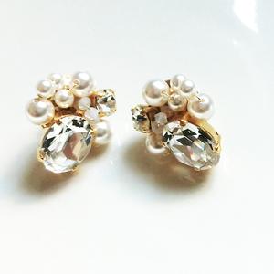 bijou & pearl Pierce(crystal)